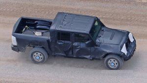 2018 Jeep Wrangler pickup truck