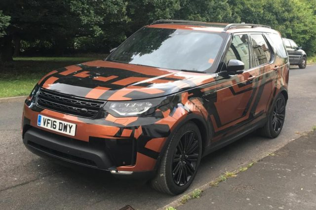 2018 Land Rover Discovery spy