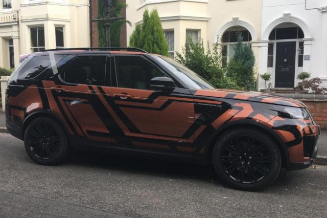 2018 Land Rover Discovery spy side