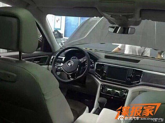 2018 Volkswagen Teramont interior