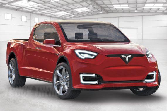2019 Tesla Model U pickup truck