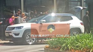 2018 Jeep Compass spied