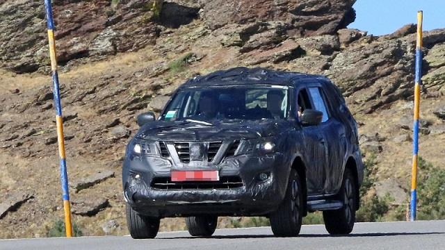 2018 Nissan Navara Suv Shows The Production Ready Bodywork