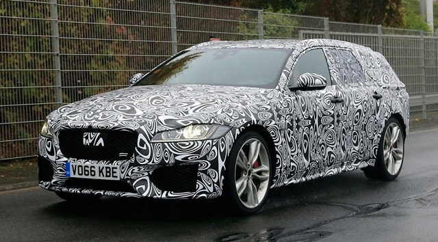 2018 Jaguar XF Sportbrake spy