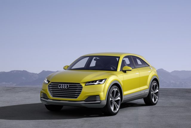 2019 Audi Q4 A New Coupe Like Crossover On The Horizon Suvs