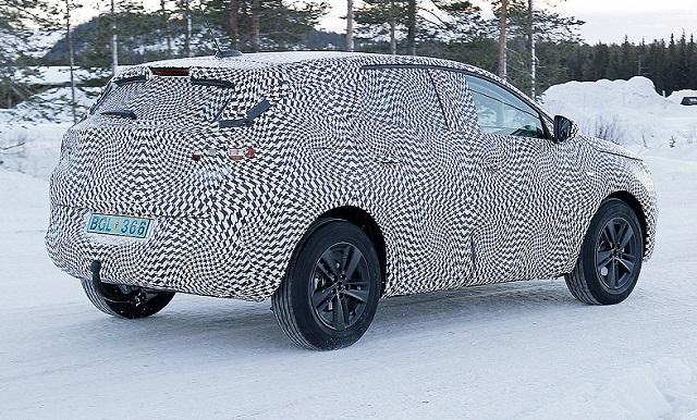 2017 Opel Grandland Spy