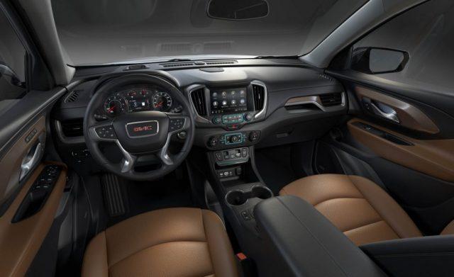 2018-GMC-Terrain-interior