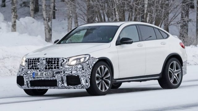 2018 Mercedes-AMG GLC63 Coupe spy