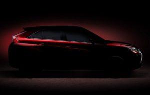 2018 Mitsubishi Eclipse SUV teaser