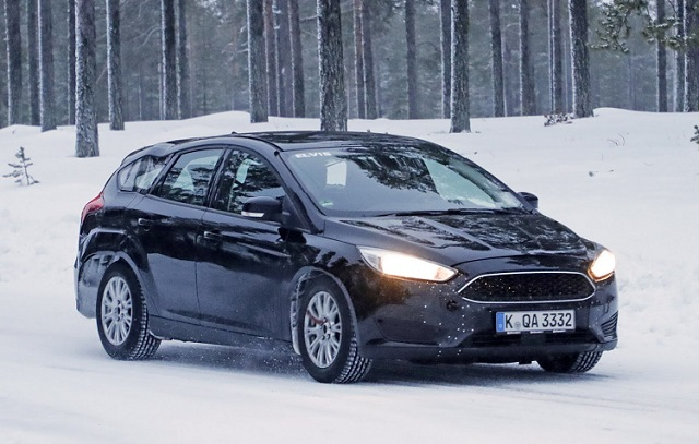 2018 Ford Focus Wagon spy