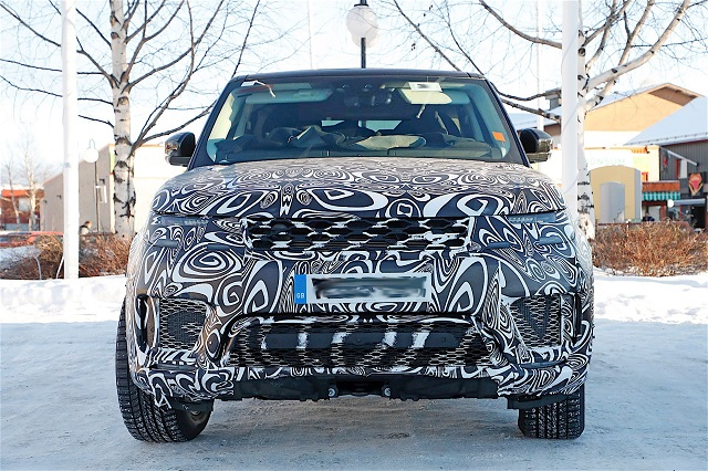 2018 Range Rover Sport Plug-In Hybrid spy