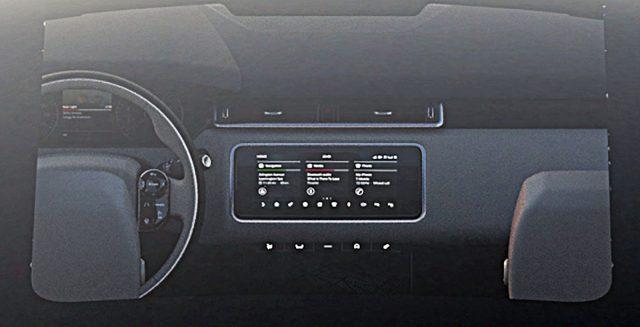2018 Range Rover Velar infotainment
