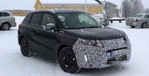 2018 Suzuki Vitara spy