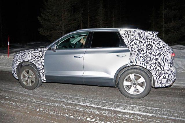 2018 Volkswagen Touareg spy
