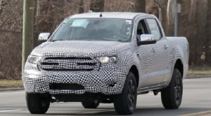 2019 Ford Ranger-US.model spy