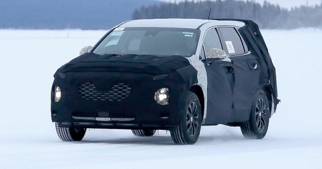 2019 Hyundai Santa Fe redesign