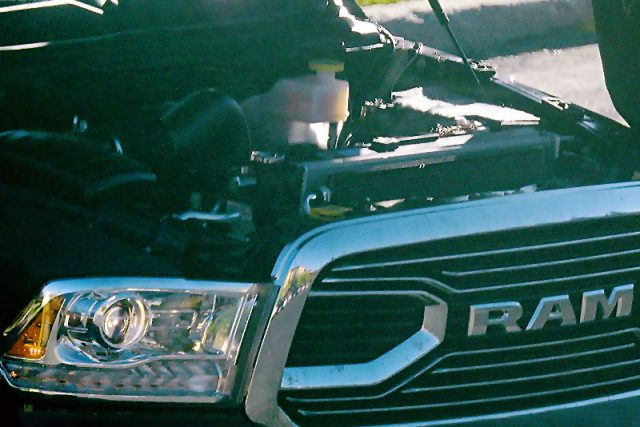 2019 Ram 1500 with four-cylinder engine