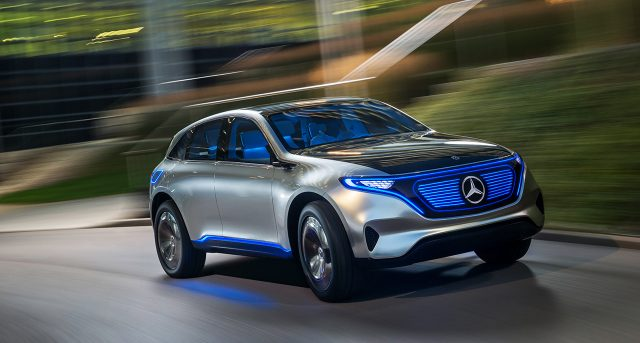 2020 Mercedes-Benz Electric SUV