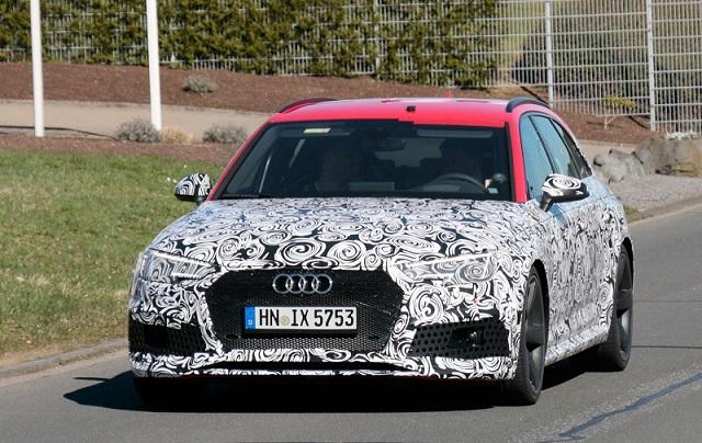 2018 Audi RS4 Avant spy