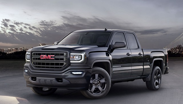 2019 GMC Sierra 1500 redesign