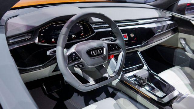 Audi Q8 Sport Concept interior