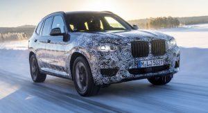 2018 BMW X3 M40i spy