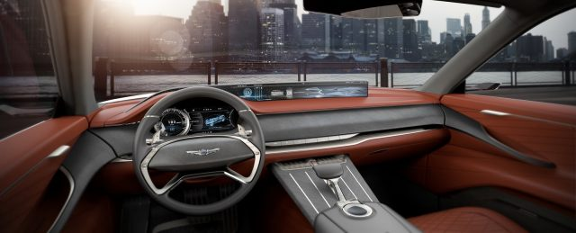 Genesis GV80 Concept interior