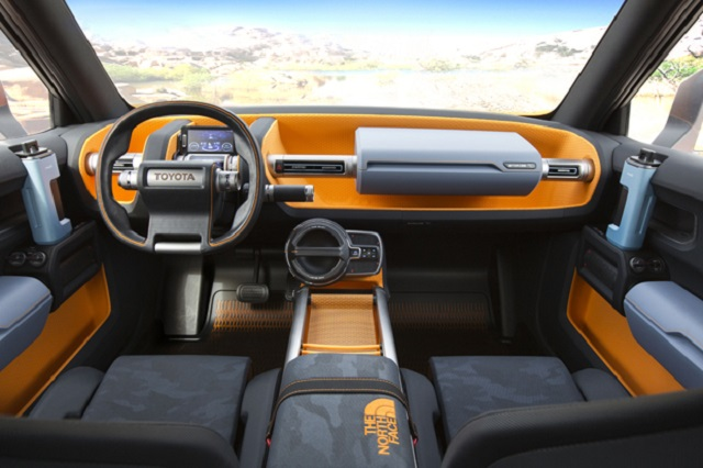 Toyota FT-4X concept interior