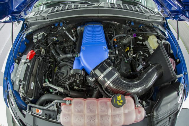 2017 Ford Shelby F-150 Super Snake engine