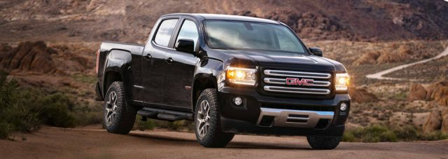 2018 gmc canyon all terrain gets special equipment and new. Black Bedroom Furniture Sets. Home Design Ideas