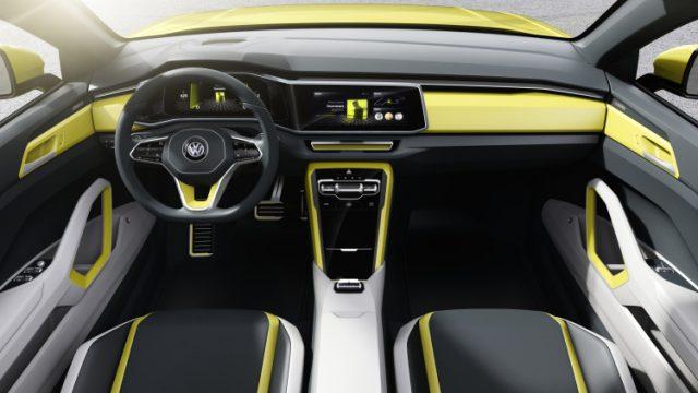 2018 Volkswagen T-Cross Breeze interior