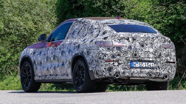 2019 BMW X4 spy rear