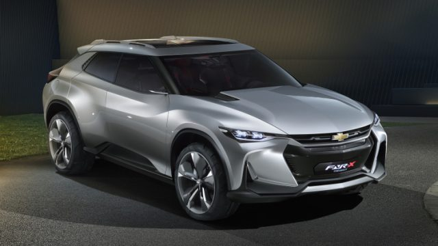 2019 Chevy plug-in hybrid SUV