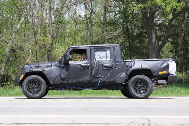 2019 Jeep Gladiator pickup truck