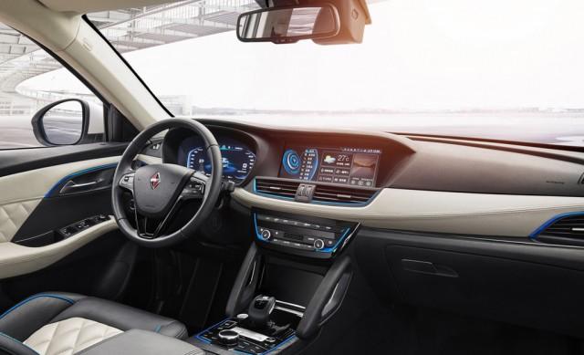 2019 Borgward BXi7 interior