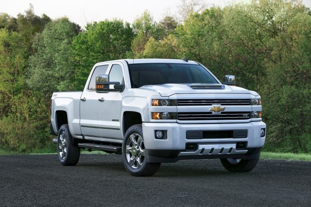 2018 Chevrolet Silverado HD updates