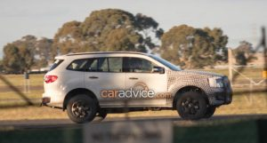 2019 Ford Everest Spy Image Via Caradvice