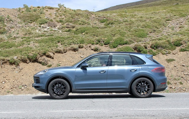 2018 Porsche Cayenne Plug-In Hybrid spy