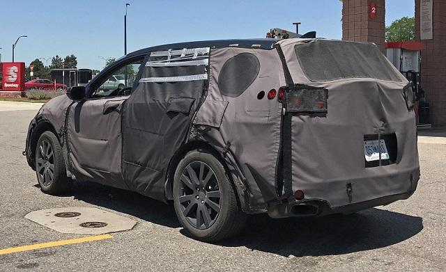 2019 Acura RDX spy rear
