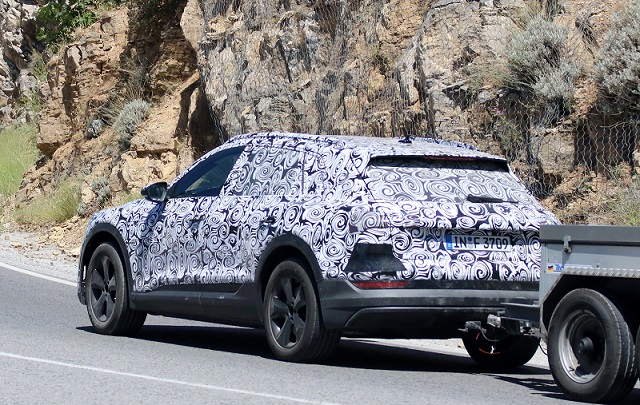 2019 Audi E-Tron SUV spy