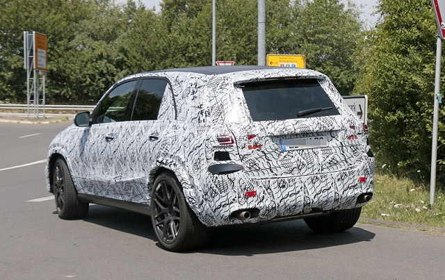 2019 Mercedes-AMG GLE 63 spy rear