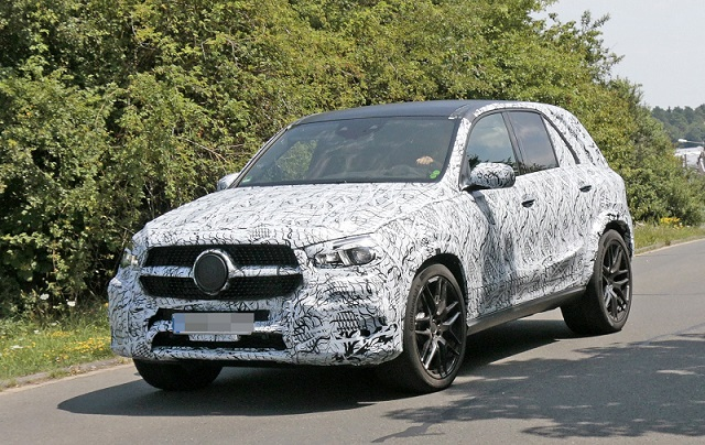 2019 Mercedes-AMG GLE 63 spy side