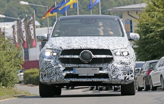 2019 Mercedes-AMG GLE 63 spy