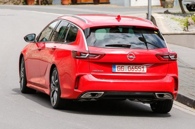 2018 Opel Insignia Sports Tourer Gsi Caught Without