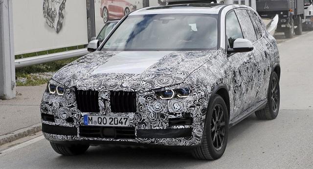 2018 BMW X5 headlights