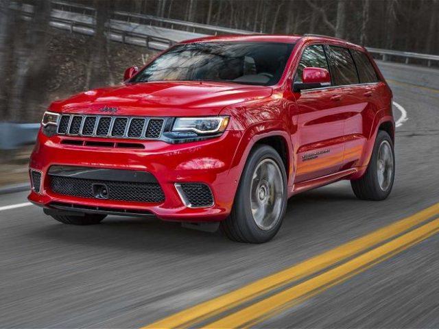 2018 jeep grand cherokee trackhawk priced at 86 995 suvs trucks. Black Bedroom Furniture Sets. Home Design Ideas