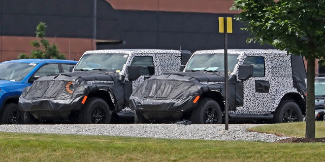 2018 Jeep Wrangler Two-Door spy