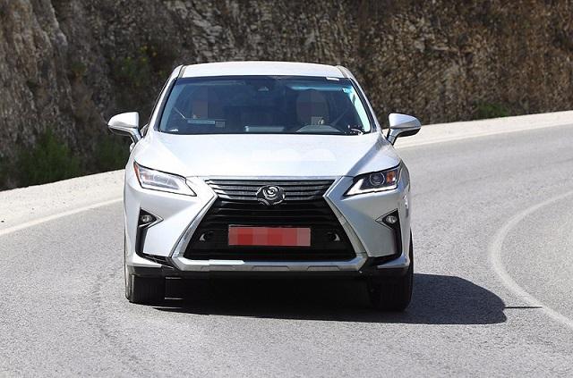 2018 Lexus RX facelift spy