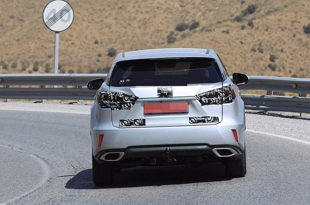 2018 Lexus RX facelift