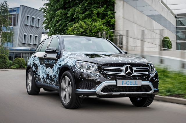 2018 Mercedes GLC F-Cell EQ